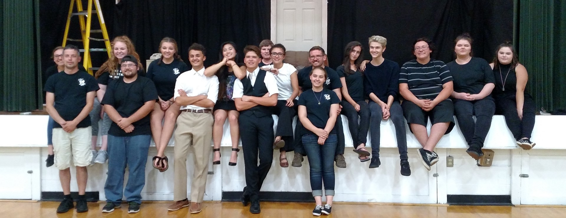 MCTG 39 Steps Cast and Crew