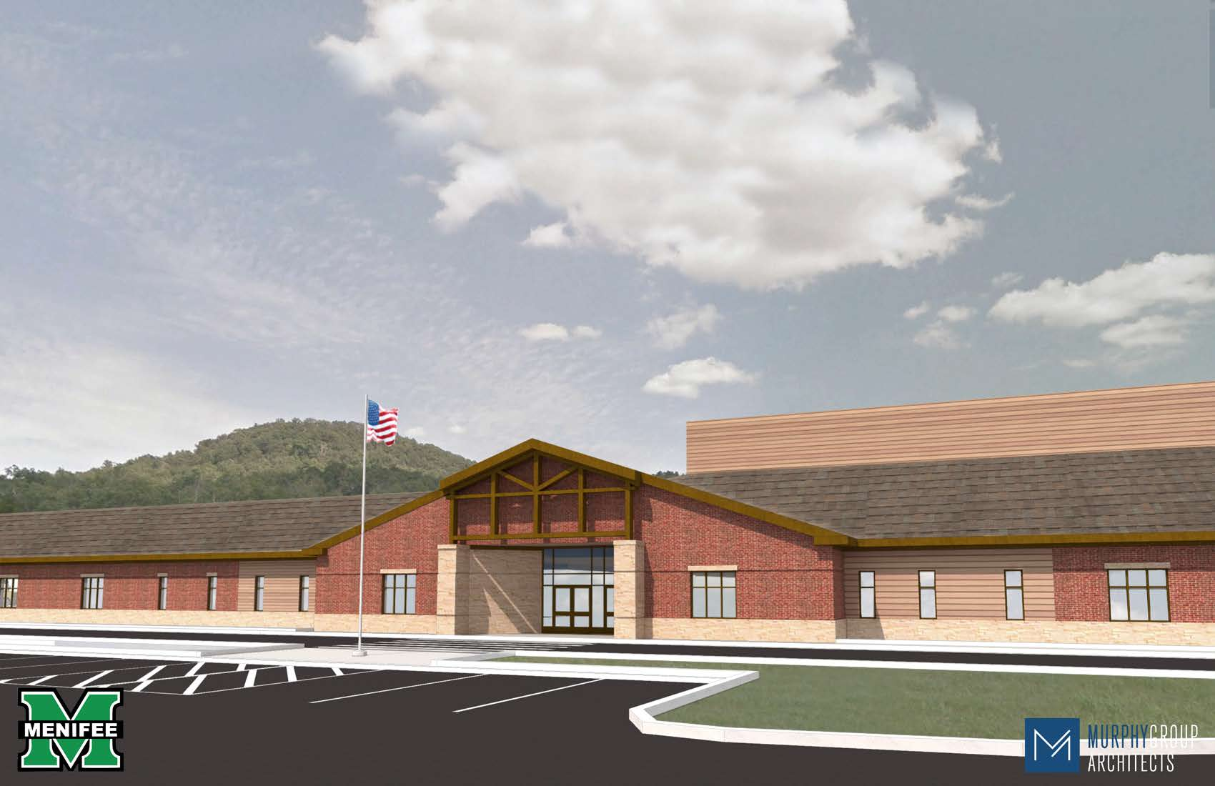 New Elementary Front Entry