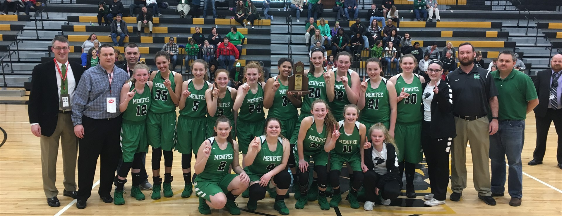 2018 Girls 61st District Champions