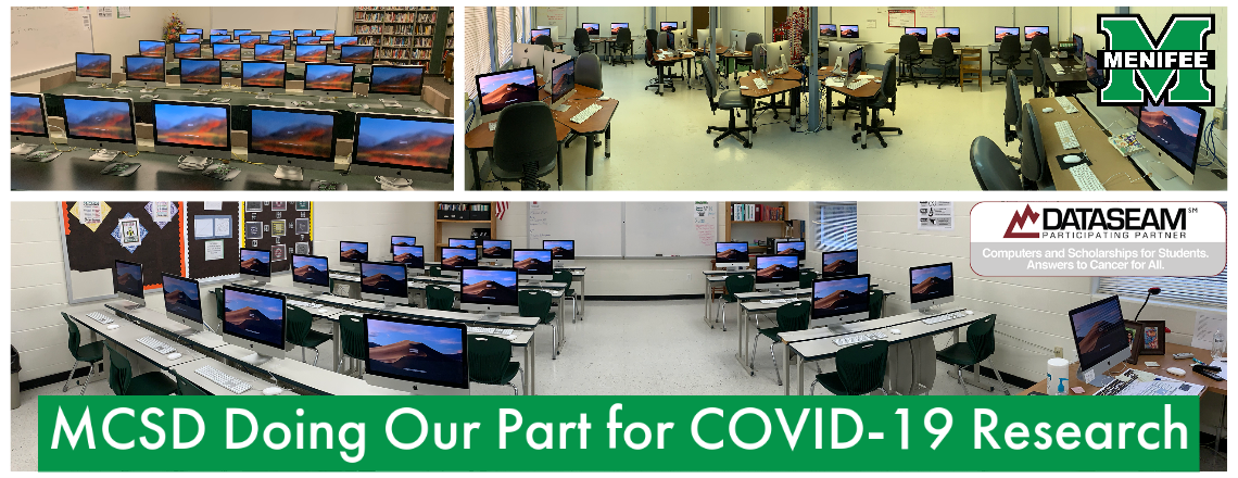 MCSD Doing Our Part for COVID-19 Research