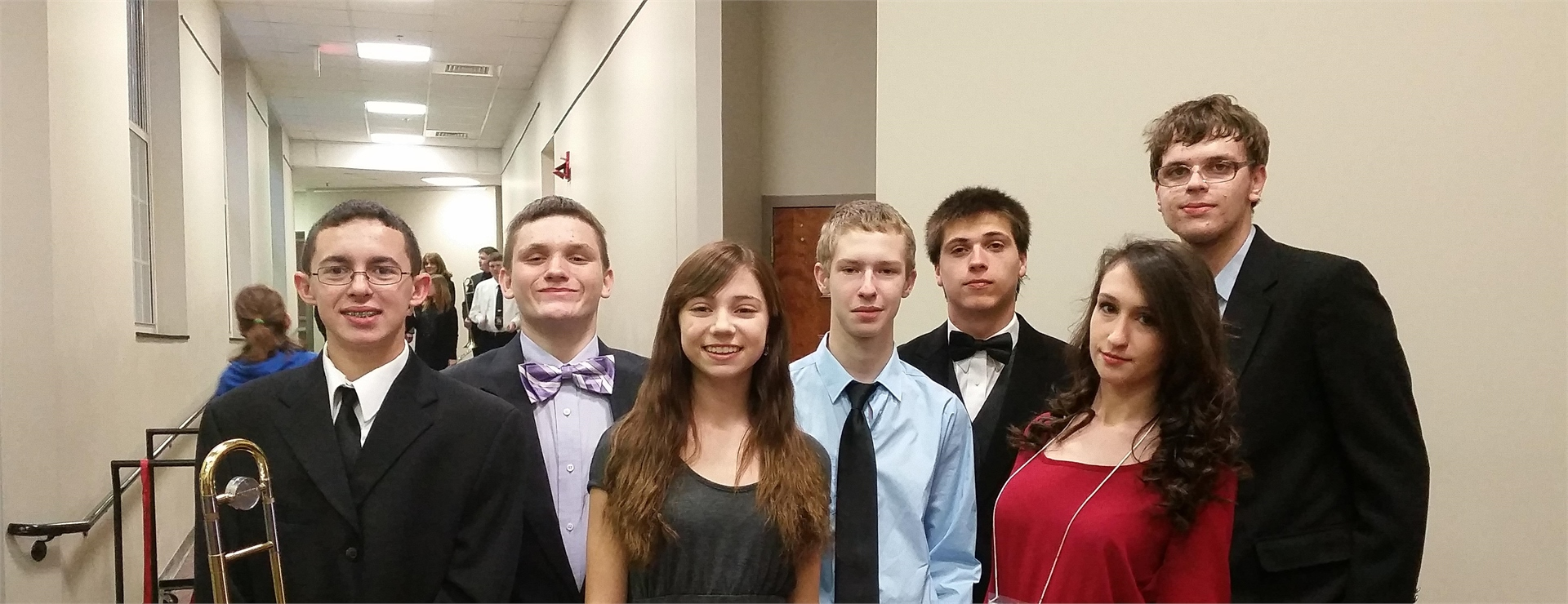 MCHS Band Attending Asbury University All-Star Band Concert