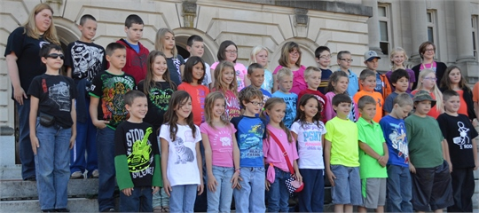 2013 4th Grade Field Trip to Frankfort