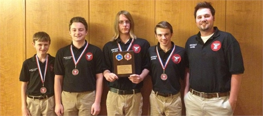 History Bowl Team 2nd in Nation