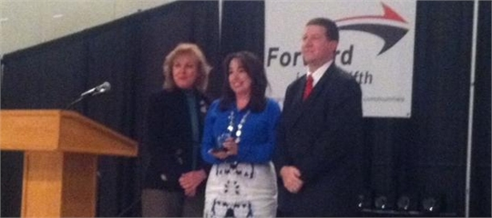 Lana Swartz - Appalachian Leader in Education  Forward in the Fifth Teacher Leader Award