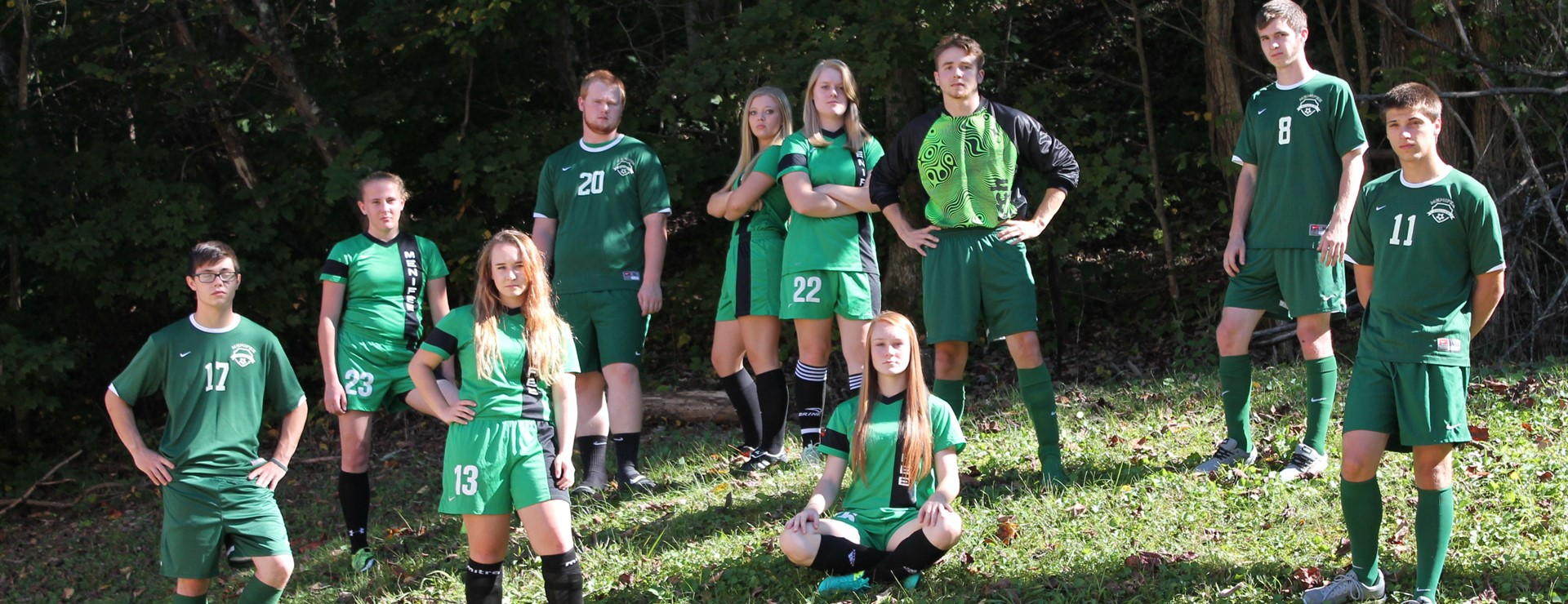 MCHS Senior Soccer Players