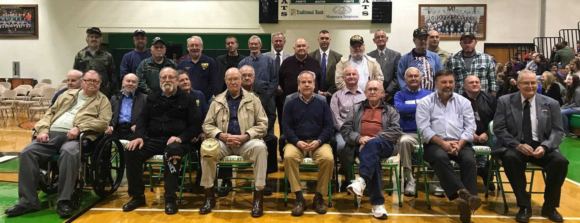 MCHS 2017 Veteran's Service